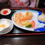 川崎駅の子連れランチ 阿里城のおもちゃ付き中華風お子様セット