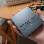 ネットギアのハブ「GS105E-200JPS」を購入!手のひらサイズに感動!
